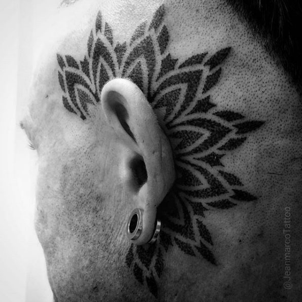 Dotwork Tattoos Por Jeanmarco Dotworkes